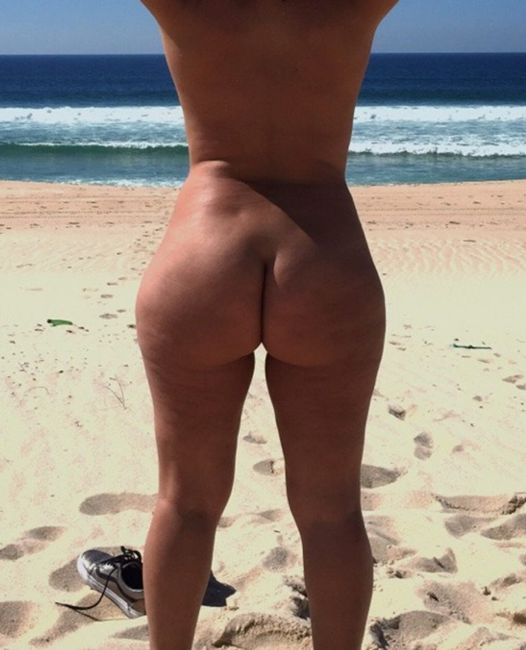 Big booty naked women at the beach photo 02941