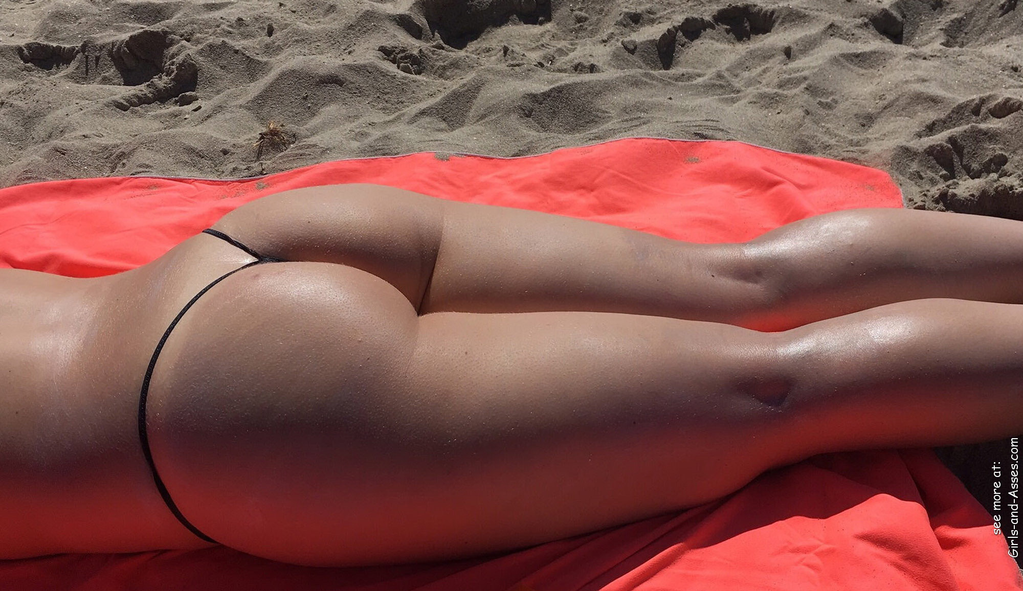 naked sunbathing tanning on the beach pic 00728