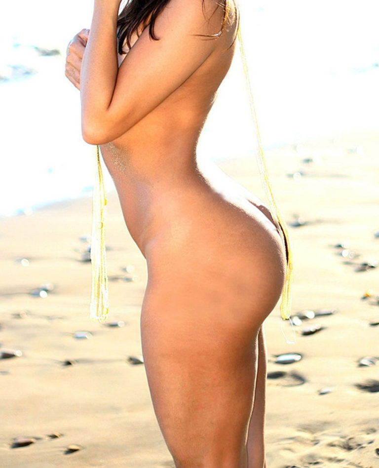 Sexy nude palg on the beach image 04335