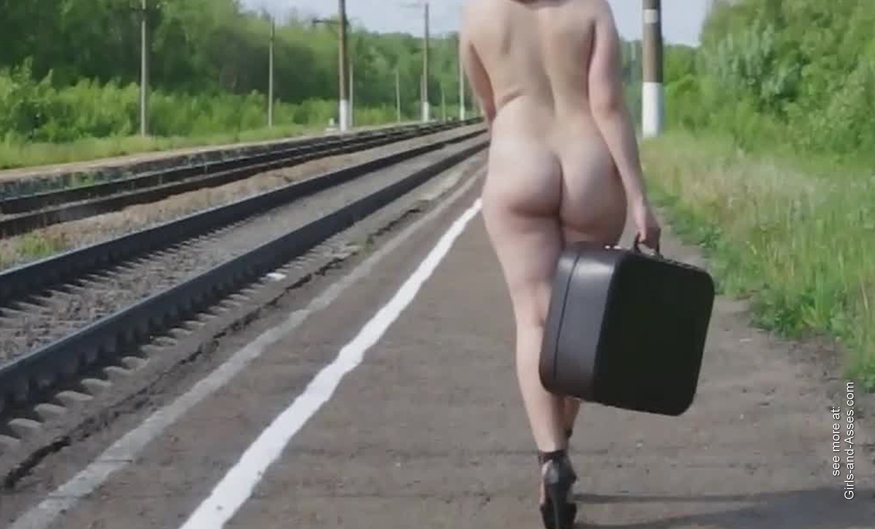 hot girl naked on the train tracks picture 00256