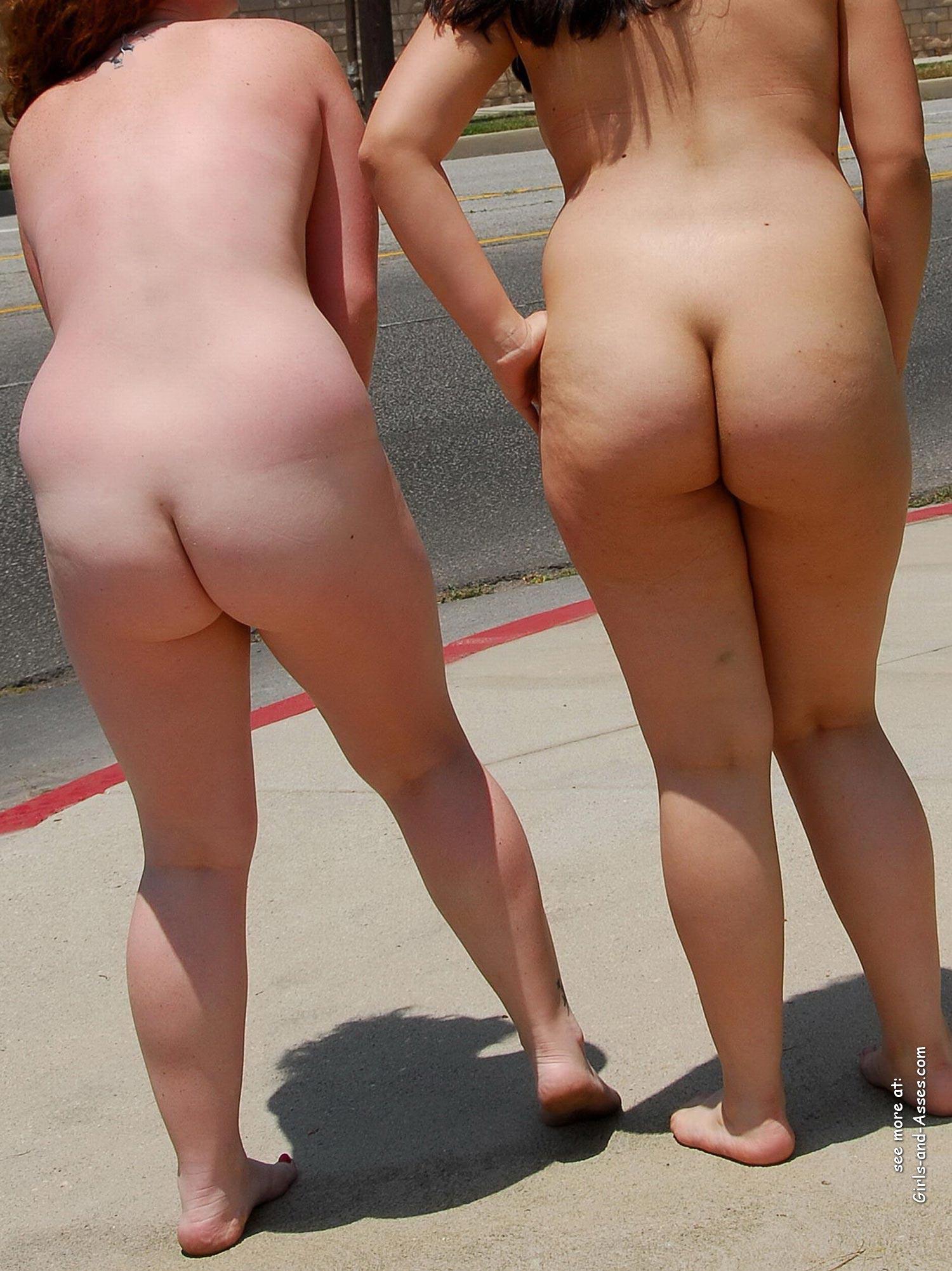 hot nude cheeks ass walking the street photo 01736