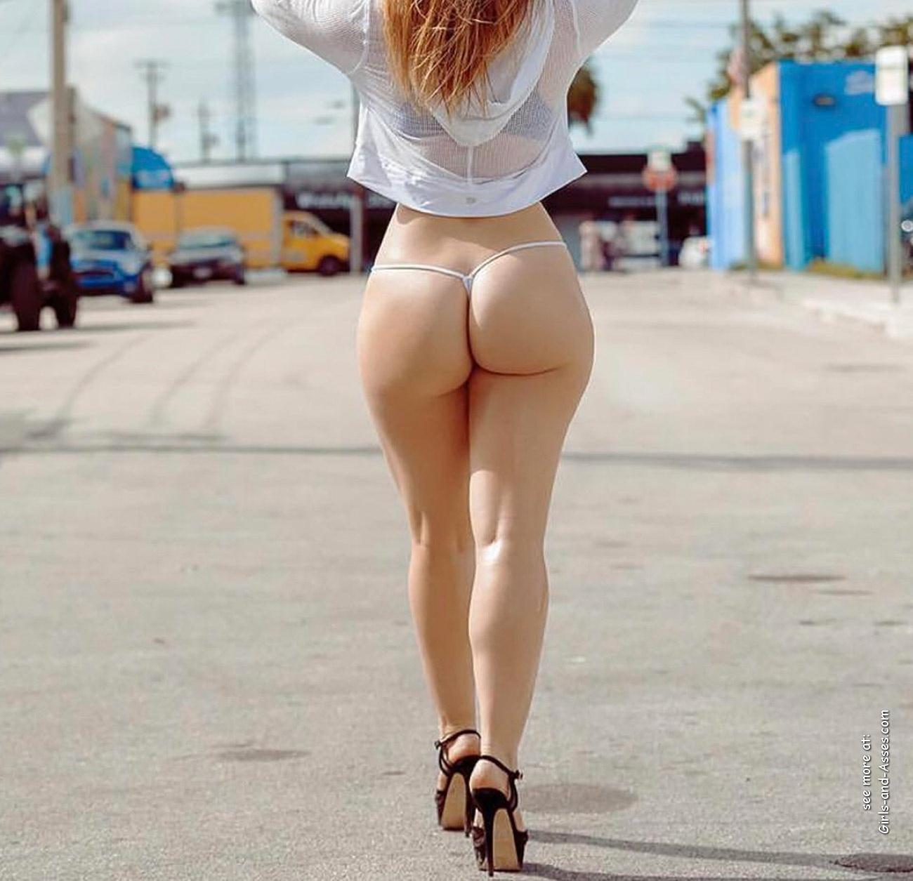 hot nude cheeks ass walking the street photo 02153